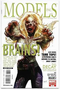 Models Inc #3 Greg Land Zombies Variant (Marvel, 2009) NM