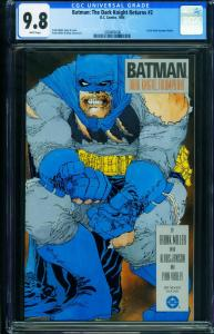 BATMAN THE DARK KNIGHT RETURNS #2 CGC 9.8 1986-Frank Miller 1280483006