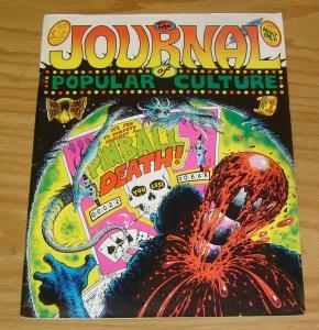 Journal of Popular Culture #1 FN steve bissette - howard cruse's barefootz 1977
