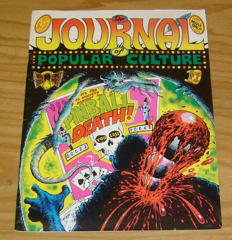 Journal of Popular Culture #1 FN steve bissette - howard cruse's barefootz 1977