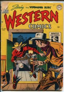 WESTERN #16 1950-DC-WYOMING KID-NIGHT HAWK-RODEO RICK-good+