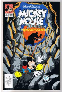 MICKEY MOUSE ADVENTURES #7, NM+, Walt, 1st Disney, 1990, more in store