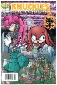 Knuckles the Echidna #5 1997- Archie Comics- Sega- Sonic NM-