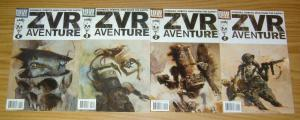 Zombies vs Robots Aventure #1-4 VF/NM complete series - ashley wood - MENTON3