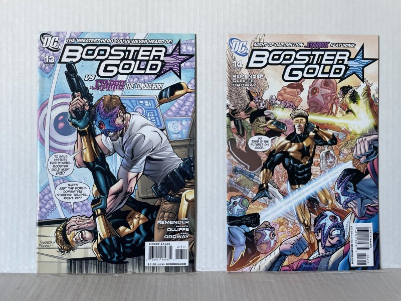 Booster Gold #13 and 14  (2008)