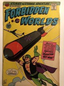 Forbidden Worlds#138,VG, Constanza-Hickey Art! Some discolor@edge..