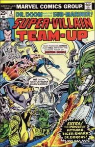 Marvel SUPER-VILLAIN TEAM-UP #3 VG/FN