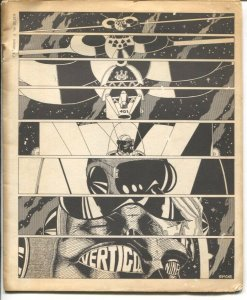 Vertigo #9 1971-print run of 200-comic art & sci-fi-rare-VG