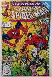 Amazing Spider-Man #343 ? BLACK CAT APPEARANCE ? ERIK LARSEN ? Marvel ? HG
