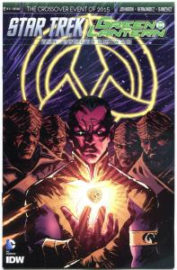 STAR TREK GREEN LANTERN #2 S, NM, Spock, Kirk, War, 2015, IDW, more in store