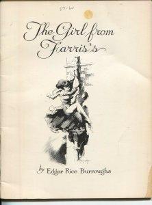 Burroughs Bulletin #39 1976-Girl From Farris's-Edgar Rice Burroughs-Frazetta-G