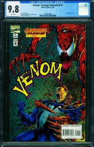 Venom: Carnage Unleashed #1-1995 CGC 9.8 1994557002