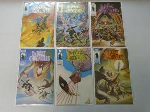 The Bozz Chronicles set #1+6 8.0 VF (1985)