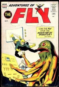 ADVENTURES OF THE FLY #15 MONSTERS 1961 JAGUAR FLY-GIRL VG