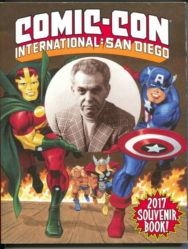 San Diego Comic Convention Program Book 2017-SDCC-Jack Kirby-art-pix-VF