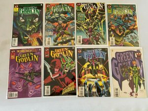 Green Goblin run #1-8 8.0 VF (1995)