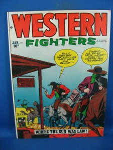WESTERN FIGHTERS VOL 4 # 2 F+ KRIGSTEIN 1952