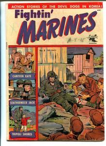 Fightin' Marines #8 1952-St John-Matt Baker-Canteen Kate-VG MINUS