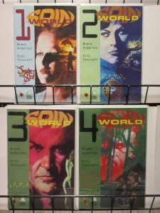 SPIN WORLD (1997 AMAZE INK/SLAVE LABOR) 1-4