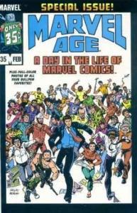 Marvel Age #35, VF+ (Stock photo)