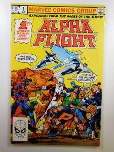 Alpha Flight #1 (1983) FN+