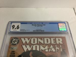 Wonder Woman 150 Cgc 9.6 Adam Hughes Cover AH!