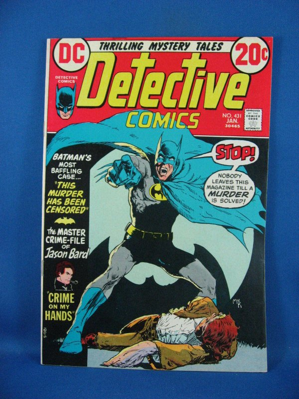 Detective Comics #431 (Jan 1973, DC) VF NM