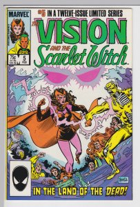 Vision and the Scarlet Witch #5   Feb 1986 - NM-