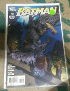 Batman #712 2011 dc comics pieces pt 3 TWO FACE RIDDLER GOTHAM