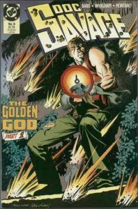 DC DOC SAMSON (1988 Series) #9 VG+
