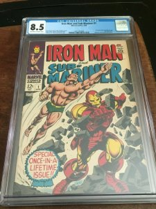 Iron Man and Sub-Mariner #1 (1968) CGC 8.5 ~ Pre-dates Iron Man #1 & Sub #1