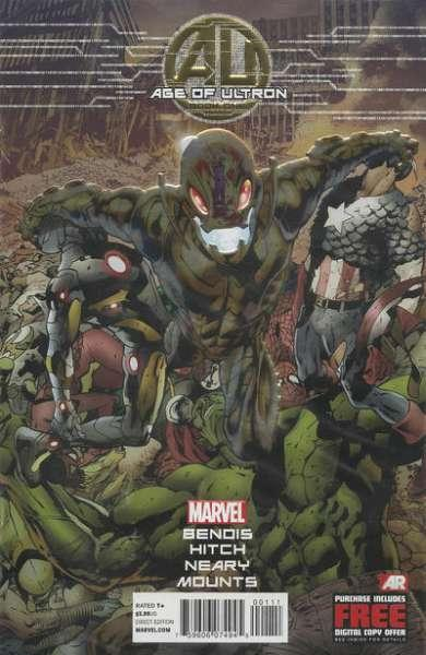 Age of Ultron #1, NM- (Stock photo)