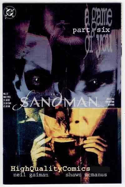 SANDMAN #37, NM-, Vertigo, Neil Gaiman, Shawn McManus, more in store