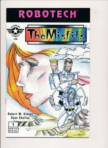 ROBOTECH The Misfits #1 - Academy Comics Ltd. 1996 ~ VF/NM  (PF279)