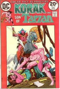KORAK SON OF TARZAN 55 VF-NM Jan. 1974 COMICS BOOK