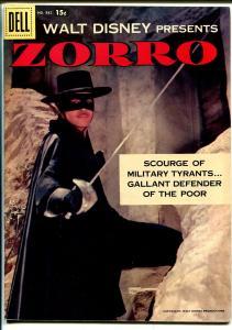 Zorro Four Color Comics #882 1958-Dell-Disney-Alex Toth-Guy Williams-VF+