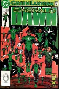 Green Lantern: Emerald Dawn #6, NM- (Stock photo)