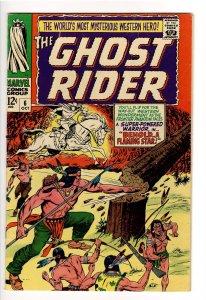 GHOST RIDER(1967) 6 F-  UNCOMMON IN HIGH GRADE!