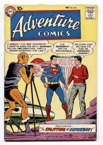 ADVENTURE COMICS #255 comic book 1958-SUPERBOY-1st Red Kryptonite