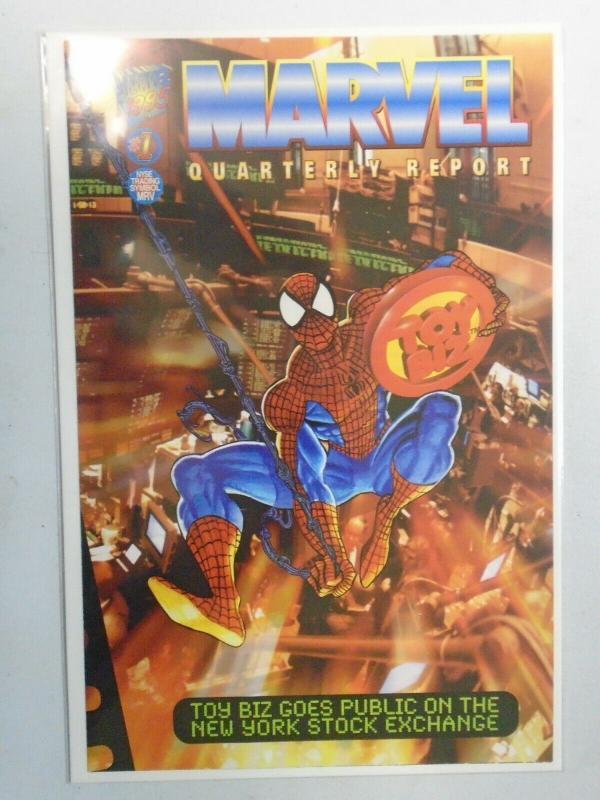 Marvel Quarterly Report #1 (1995) 9.4 NM