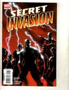 8 Secret Invasion Marvel Comics # 1 2 3 4 5 6 7 8 RP1