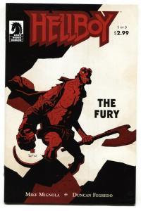 Hellboy: The Fury  #1  2011- Dark Horse NM-