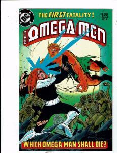 Lot of 7 The Omega Men DC Comic Books #4 10 11 12 13 14 15 BH53