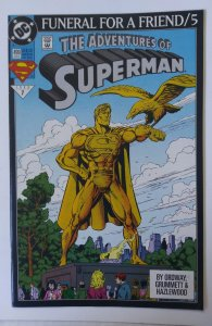 Adventures of Superman #499 >>> 1¢ Auction! See More! (ID#104)