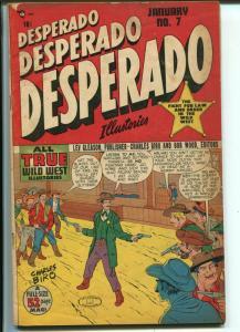 Desperado #7 1949-Lev Gleason-heavy violence-Fred Gardineer art-G