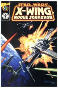 STAR WARS X-WING ROGUE SQUARDRON #1/2, NM, Wizard mail away, COA, 1997,