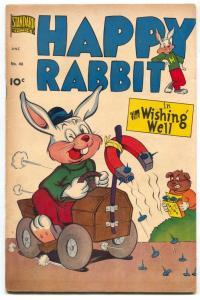 Happy Rabbit #46 1951- Golden Age Funny Animals F/VF