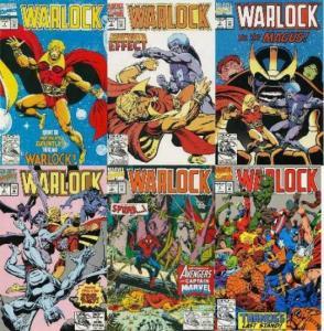 WARLOCK  (1992) 1-6  CLASSIC STARLIN REPRINTS! THANOS