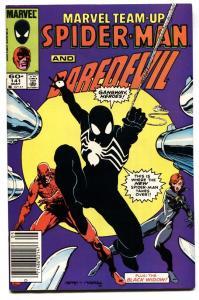 Marvel Team-up #141 1st Black Costume Spider-man NEWSSTAND variant