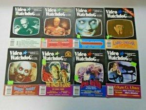 Video Watchdog Horror Lot 12 Different Average 6.0 FN (1992-2001)